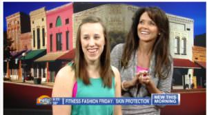 WEAU HELLO WISCONSIN Fitness Fashion Friday  Workout Makeup
