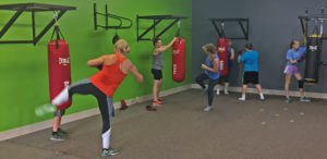 Cardio Kickboxing for Two