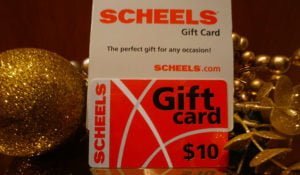 Scheels Gift Card FREE with Purchase