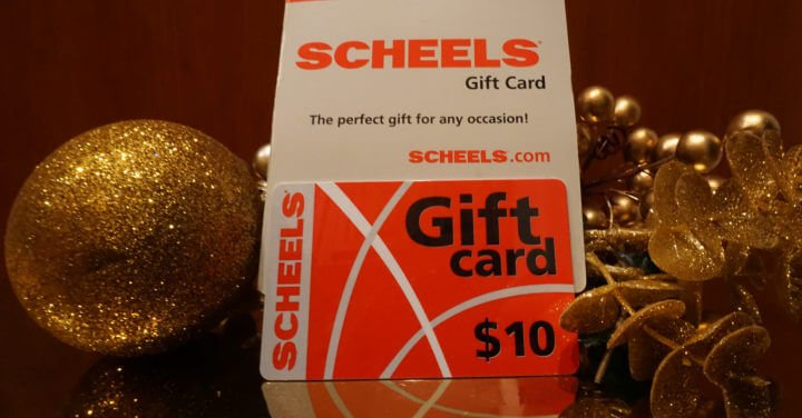 Scheels Gift Card_kimbentley Holiday Gift Guide