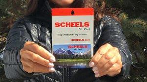 $150 Scheels Gift Card Giveaway!